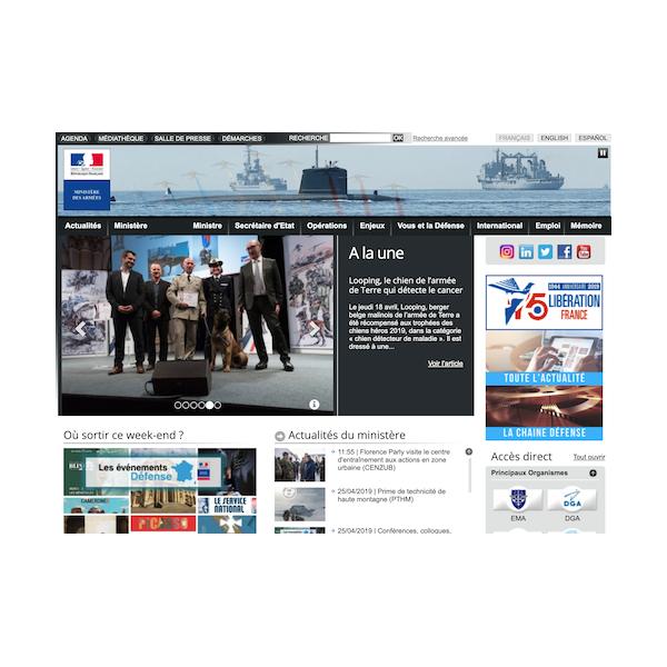 DICoD - Ministère de la Défense
